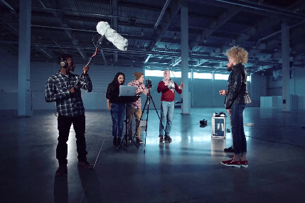 צוות הפקה