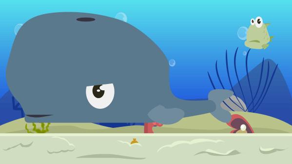 swim with the big fish